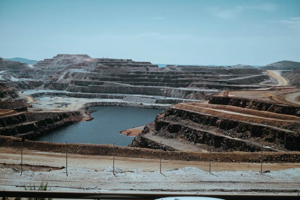 Bassin Minier Rio Tinto en Andalousie