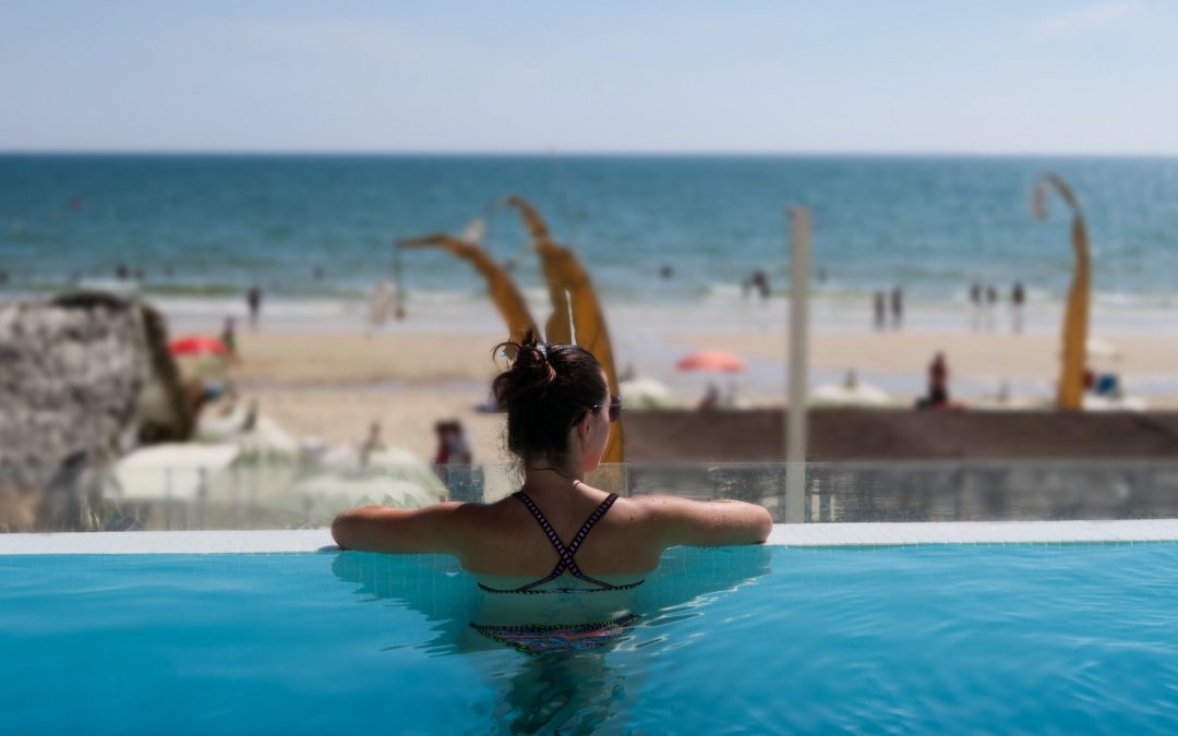 La vue de l'hôtel Oceanfront Matalascanas en Andalousie