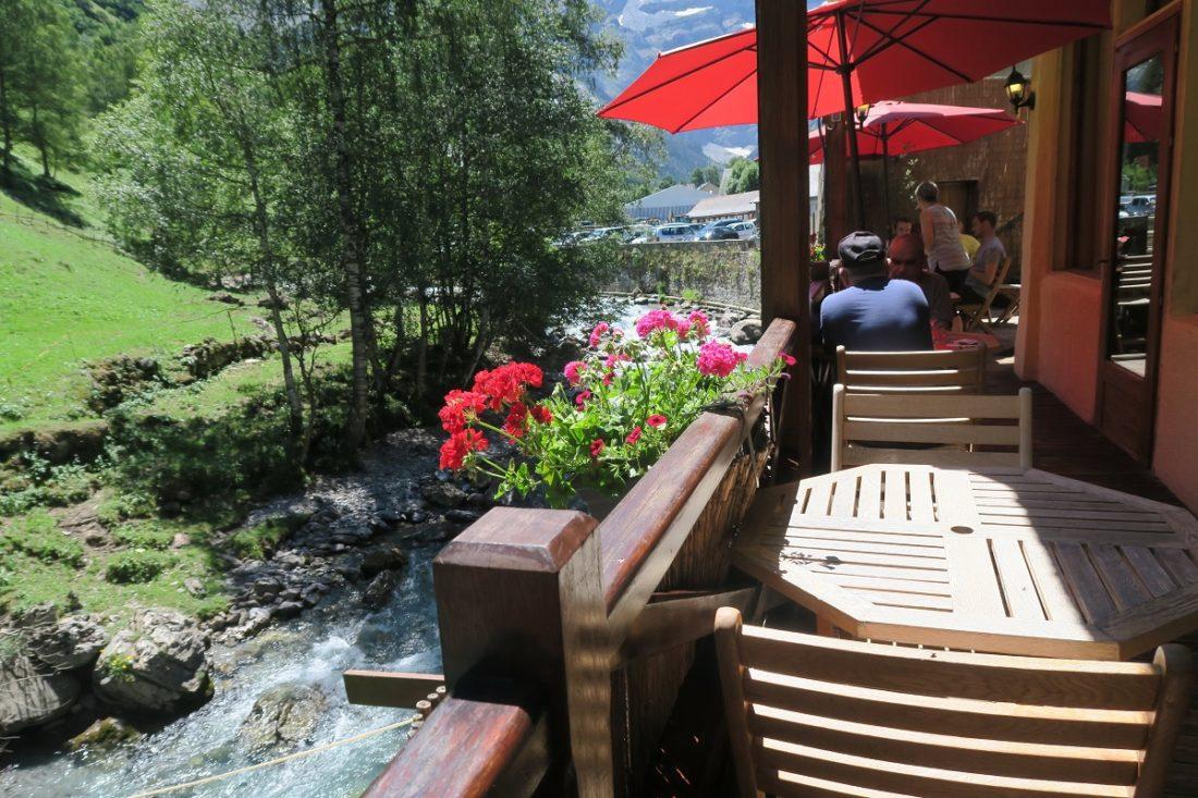 L'assiette au Bord de l'eau, restaurant à Gavarnie