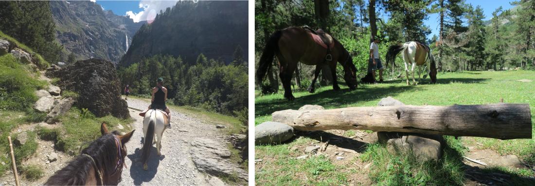 Gavarnie à cheval
