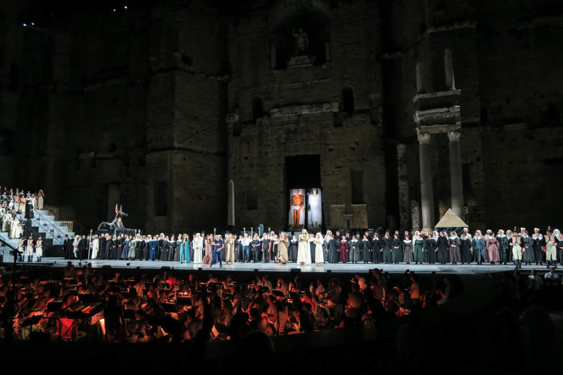Opéra Aida de Verdi