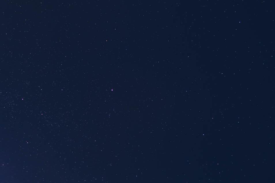 Nuit étoilée en Andalousie