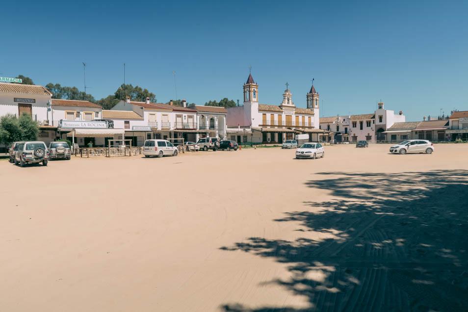 Le village western El Rocio en andalousie