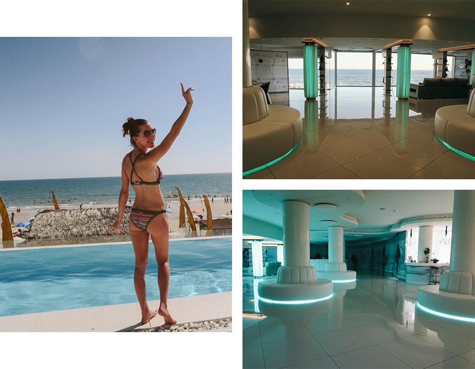 On Hotels à Matalascanas et vue sur mer