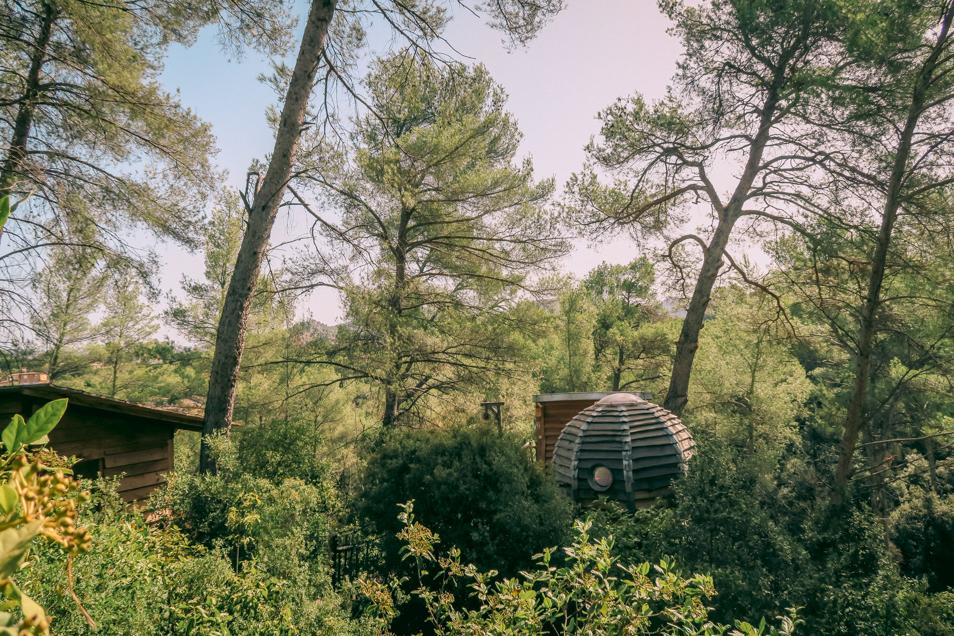 Nuit insolite à Allauch Marseille dans une cabane en bois