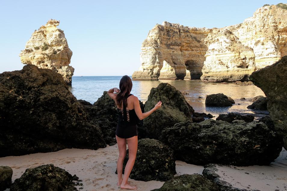 Praia da Marinha en Algarve, l'une des plus belles plages au monde