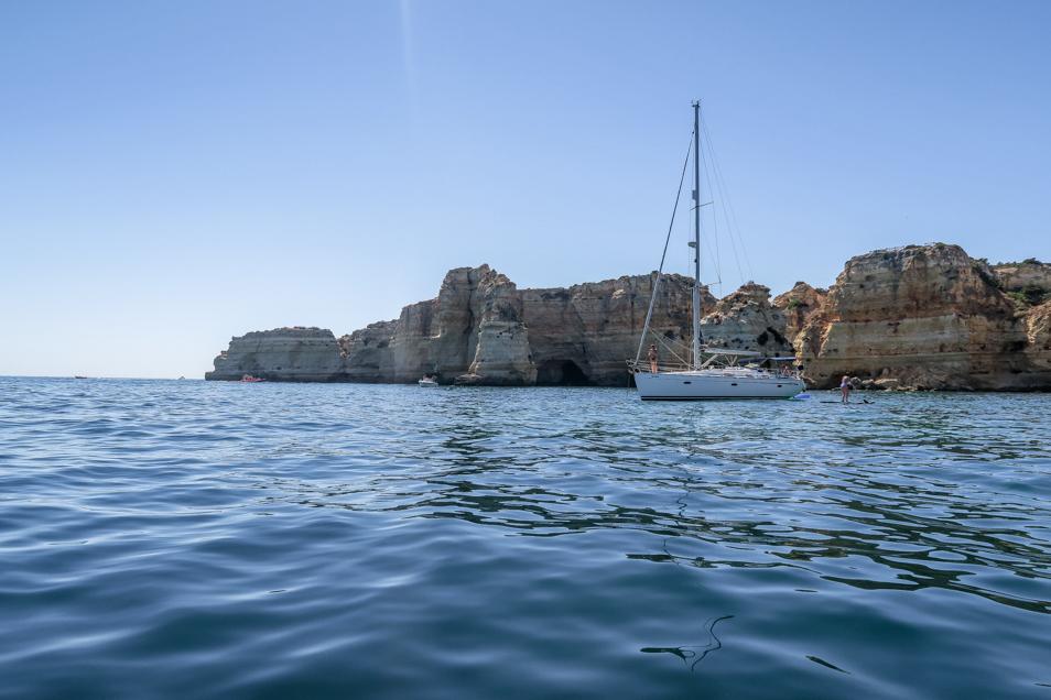 Sur un bateau en Algarve
