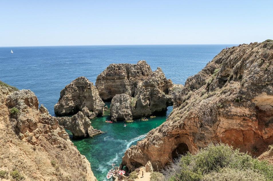 Ponte da Piedade Lagos en Algarve