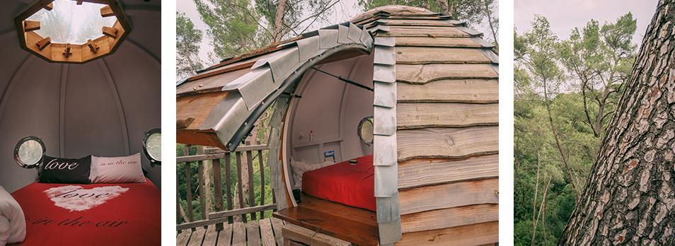Dormir dans une cabane en bois à Marseille