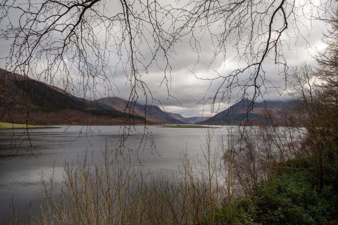 Glencoe une vallée sous les hauteurs